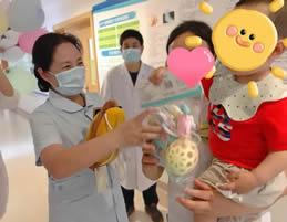 关爱儿童健康, 共享成长快乐