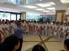 我院开展针对医学院实习生消防知识的培训