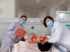我院血液透析室醫患共度佳節