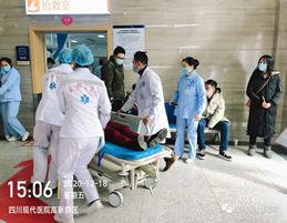 我院开展创伤抢救输血及输血后不良反应应急演练