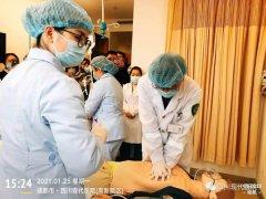 我院高新院區參加新冠疫苗接種不良反應急救演練活動